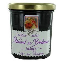Mermelada de uvas rojas de Bordeaux Lucien Saveurs
