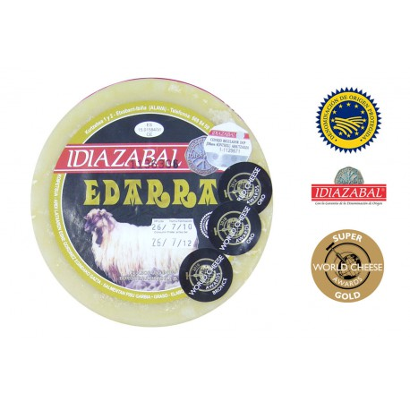 Queso Idiazabal Natural Edarra 1 Kg
