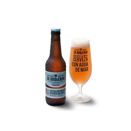 Cerveza elaborada con Agua de Mar Er Boqueron