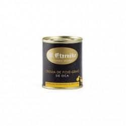 Crema de Foie Gras de Oca Etxenike Etiqueta negra 75% Foie 140 grs.