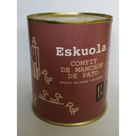 Confit de Manchon (Alas) de Pato Eskuola
