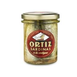 """Sardinas """"A la antigua"""" Ortiz Tarro RO – 210"""