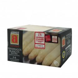 Espárragos de Navarra 6/8 Frutos Lata 1 kg.