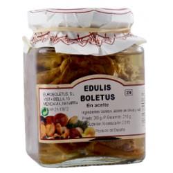 Boletus en aceite de oliva Euroboletus 165 grs